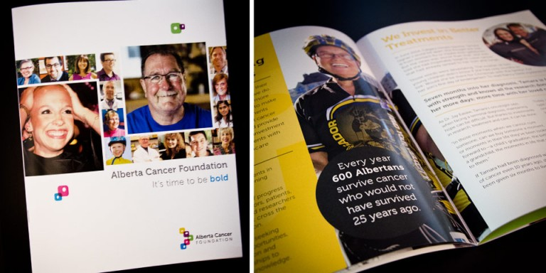 Edmonton Print Design - Alberta Cancer Foundation