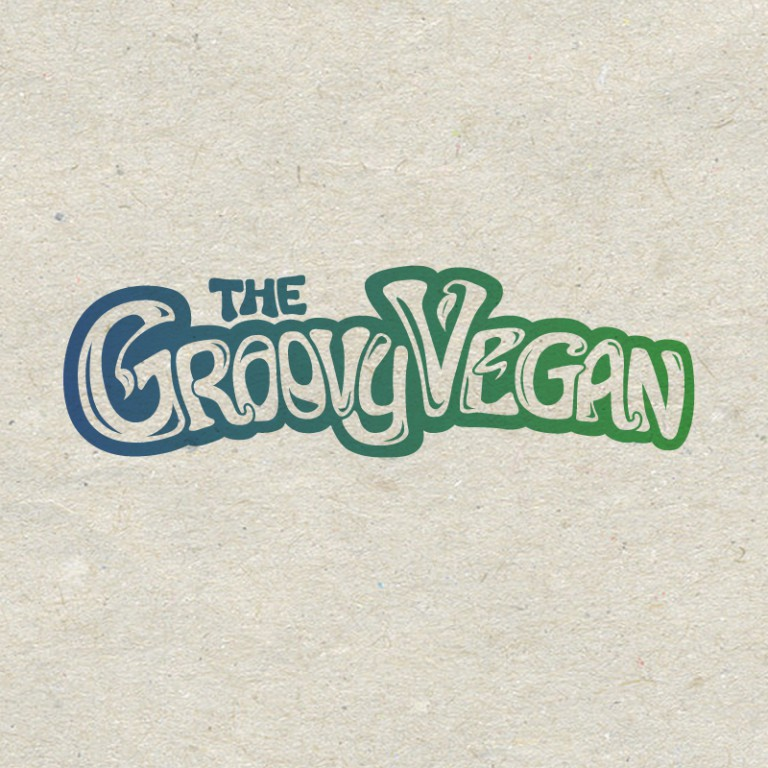 The Groovy Vegan - Edmonton Freelance Logo Design
