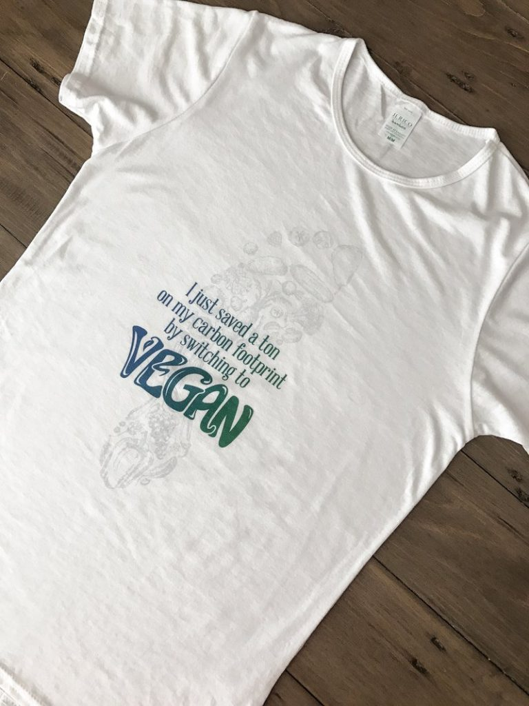 Edmonton Freelance Print & T-shirt Design - The Groovy Vegan